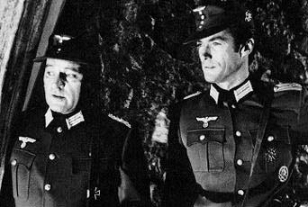 Richard with Clint Eastwood in 'Where Eagles dare'