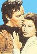 Chuck and the lovely Sophia Loren in El Cid