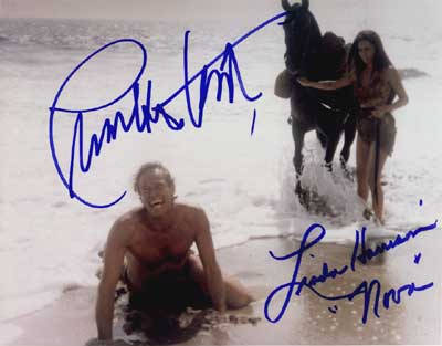 A rare signed photo of Charlton Heston from the Planet of the Apes